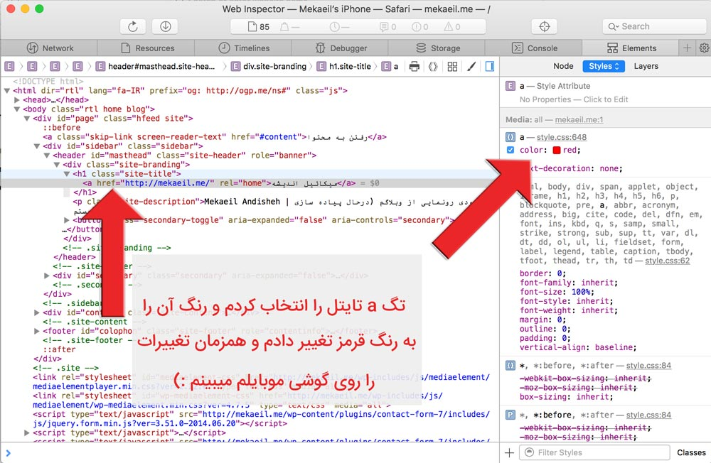 developer tools iphone