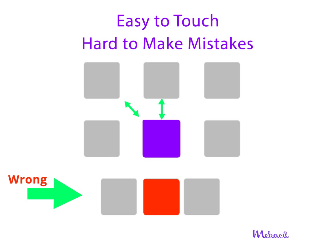 Easy to touch