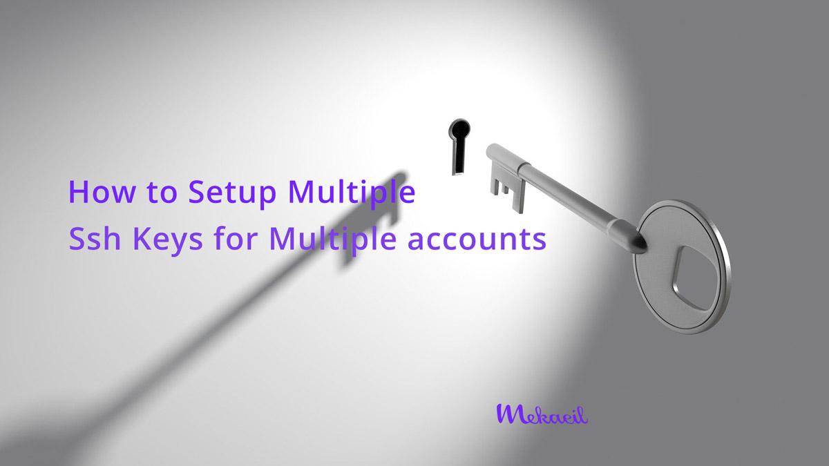 Multiple SSH Keys settings for different github account