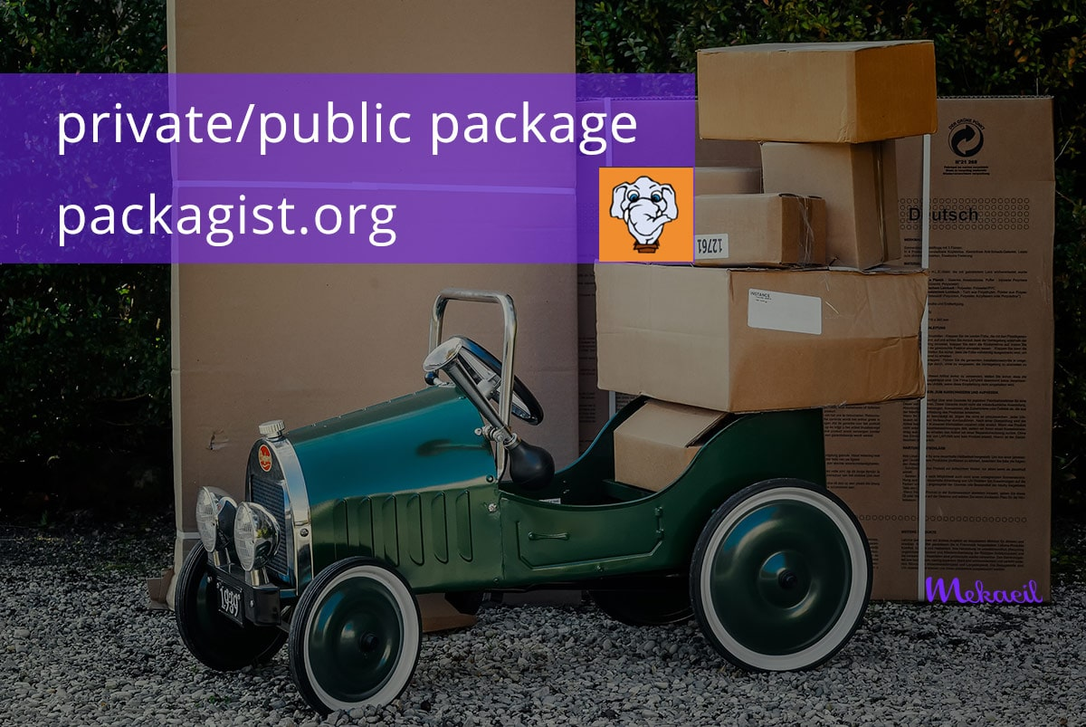Release private/ public package in packagist.org