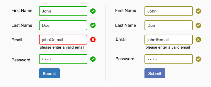 form fields is accessible